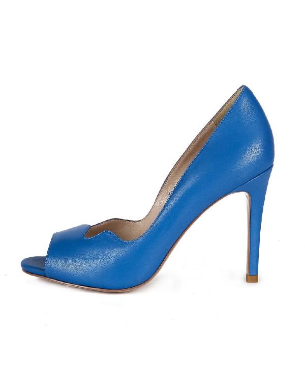 Туфли женские арт. 47-E120-6008-EY086L синий