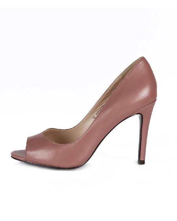 Туфли женские арт. 47-E120-6907-EY121L т.розовый