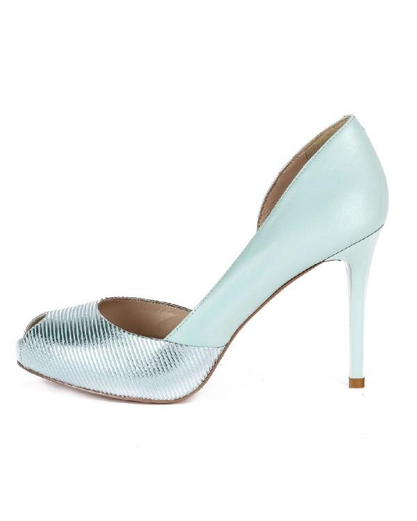 Туфли женские арт. 47-L6088-6103S-CDY053AL св.голубой