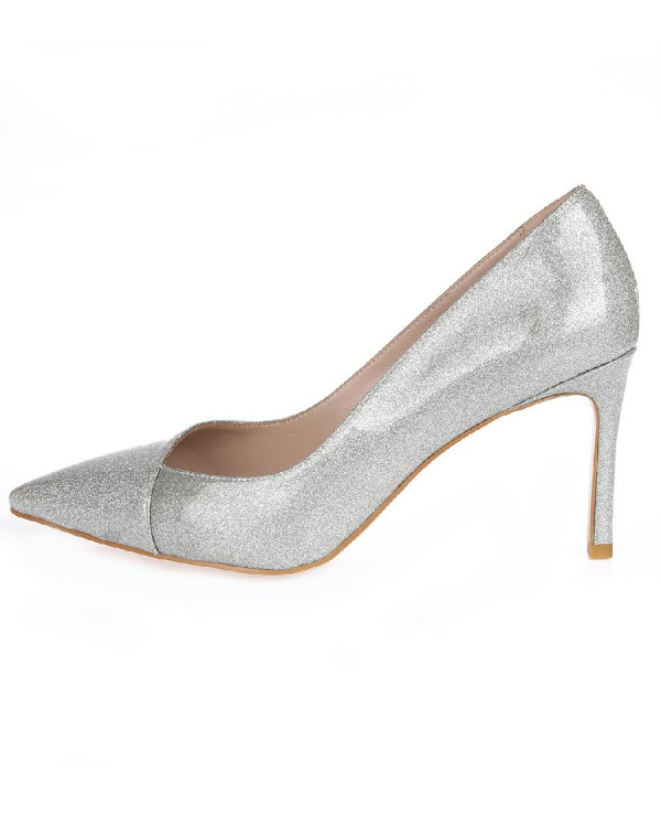 Туфли женские арт. 52-1716-70E серебро
