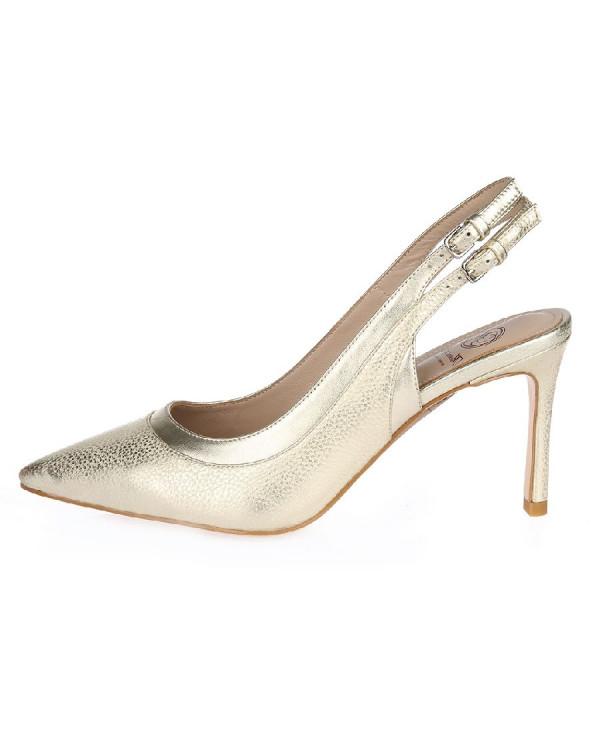 Туфли женские арт. 52-1716-74A золото