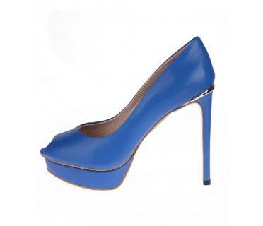 Туфли женские арт. 52-1717-70C синий