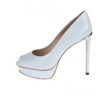 Туфли женские арт. 52-1717-70D голубой