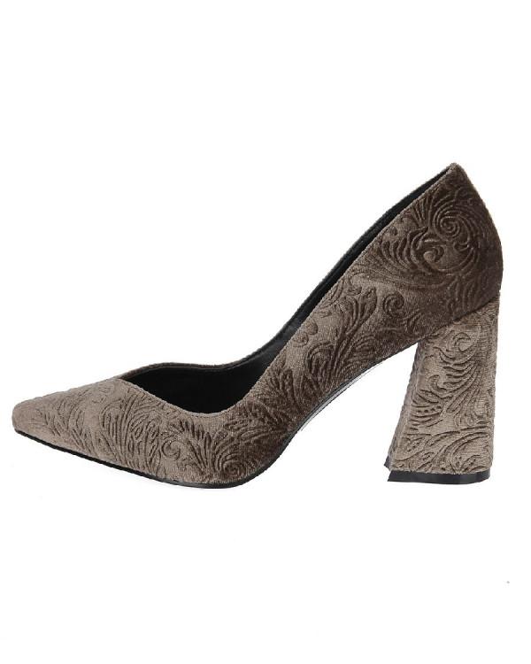 Туфли женские арт. 52-1720-71A серый