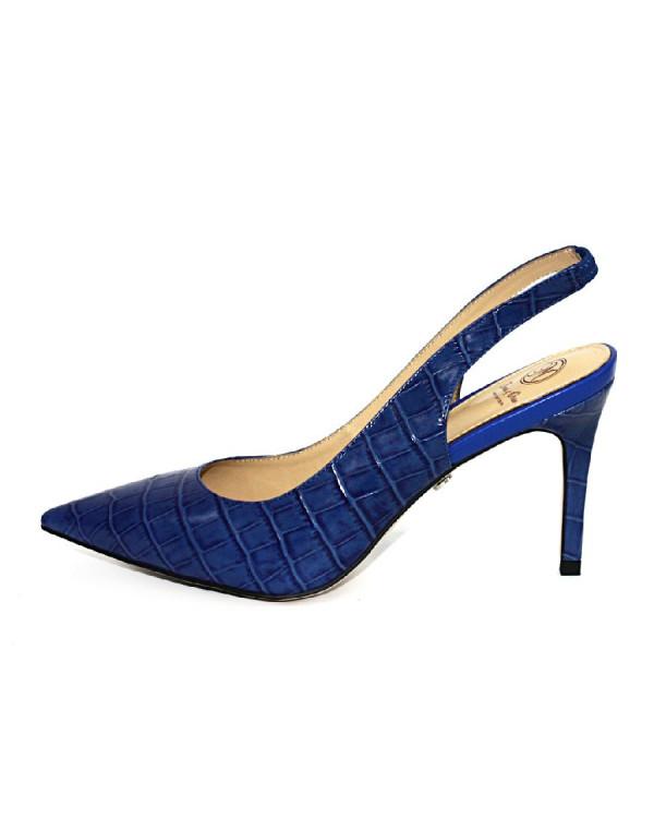 Туфли женские арт. 52-1812-911 синий