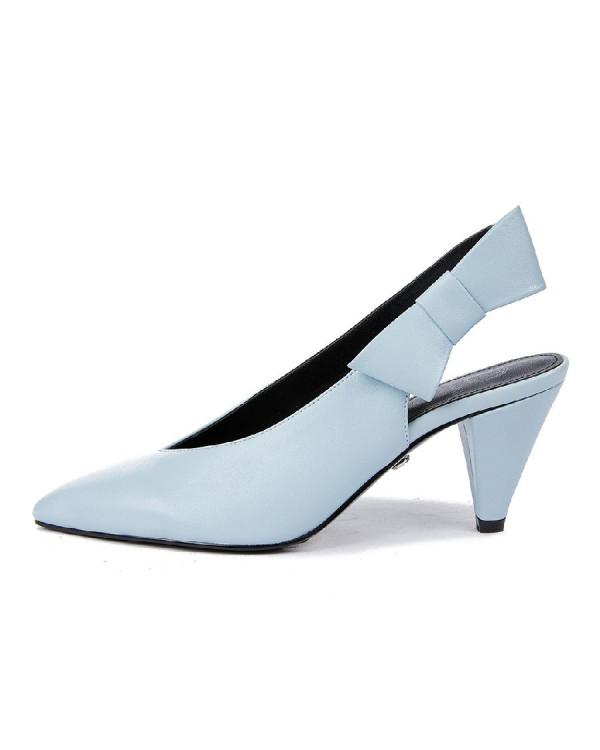 Туфли женские арт. 52-1822-95 голубой