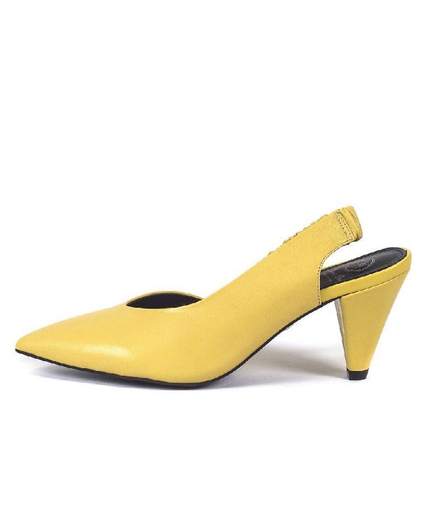 Туфли женские арт. 52-1822-96A жёлтый