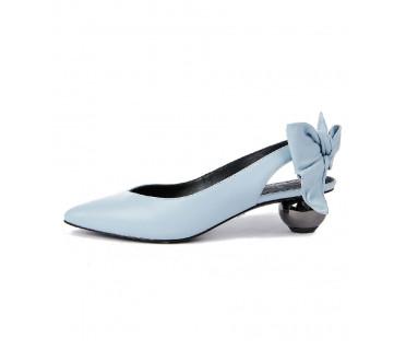 Туфли женские арт. 52-1823-93A голубой