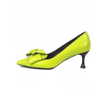 Туфли женские арт. 52-1825-94D зелёный