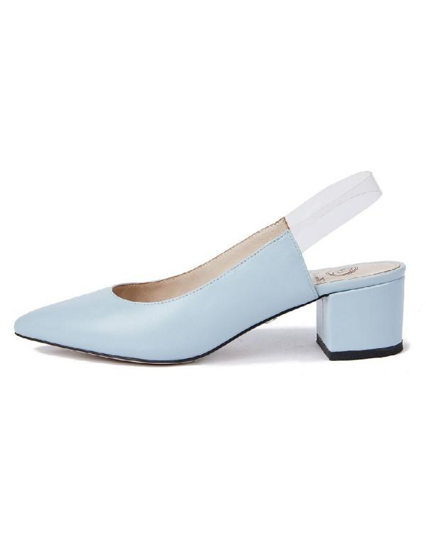 Туфли женские арт. 52-1833-93 голубой