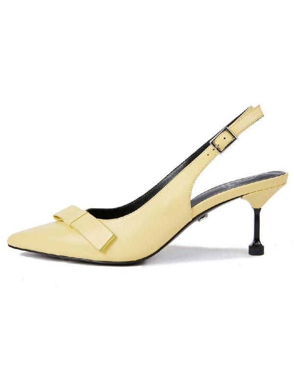 Туфли женские арт. 52-1838-91A жёлтый