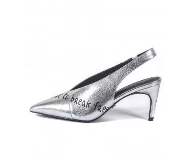 Туфли женские арт. 52-1846-91 серебро