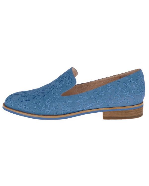 Балетки женские арт. 52-191-710A синий