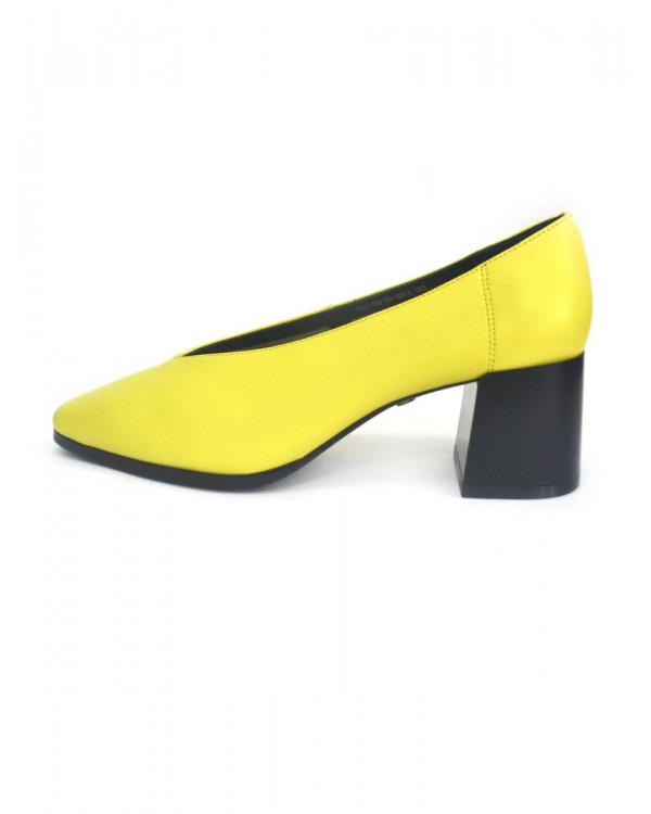 Туфли женские арт. 52-1916-95A жёлтый