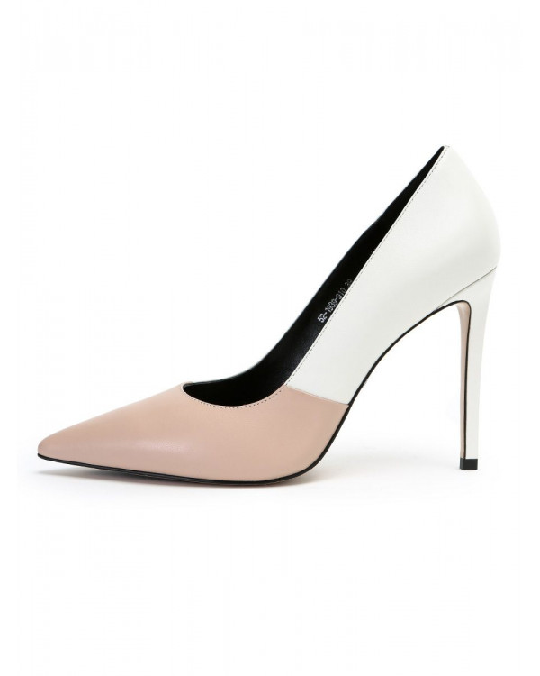 Eliza туфли женские арт. 52-1939-910 белый/розовый
