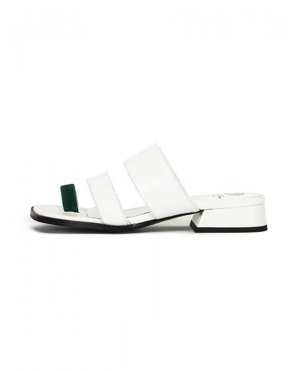 Barry сандалии женские арт. 52-1949-95A белый/зелёный