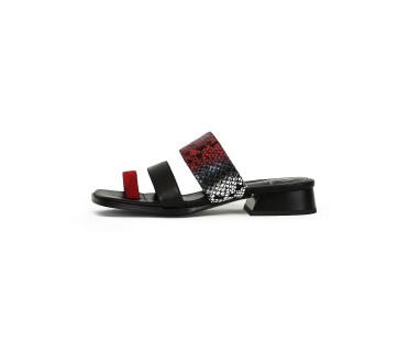 Barry сандалии женские арт. 52-1949-95B чёрный/красный
