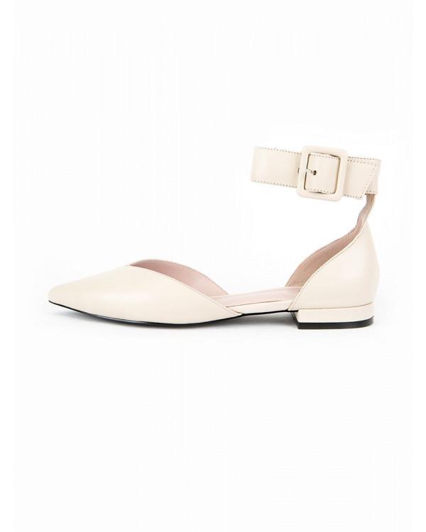 Туфли женские арт. 52-1953-204A кремовый