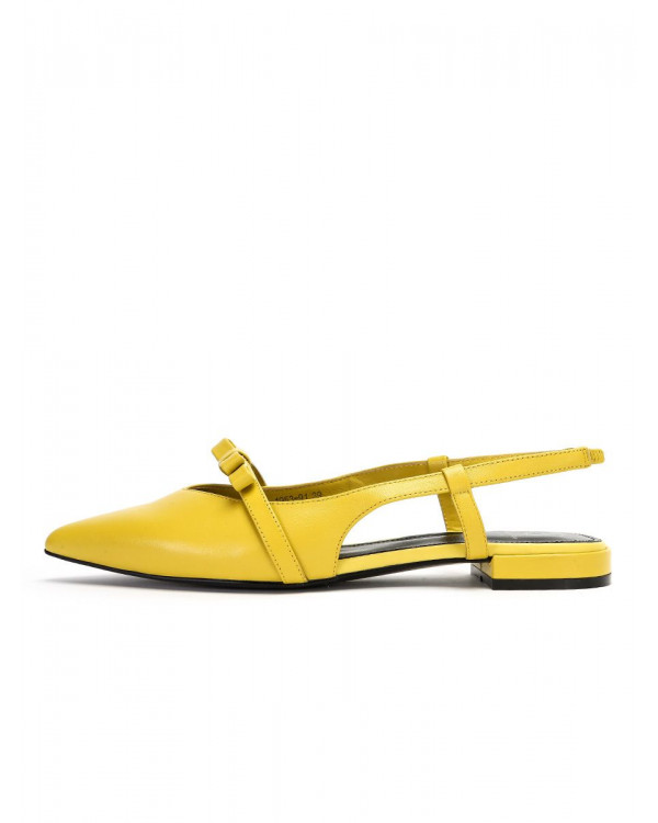 Praim туфли  женские арт. 52-1953-91 жёлтый