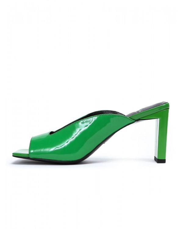 Wendy мюли женские арт. 52-1971-91E зелёный