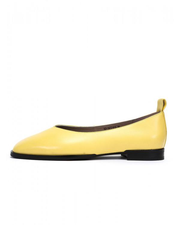 Irma туфли женские арт. 52-1977-91B жёлтый