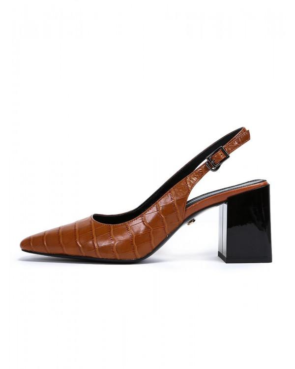 Туфли женские арт. 52-1980-91A кофе