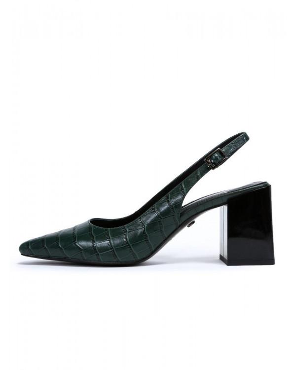 Туфли женские арт. 52-1980-91B зелёный