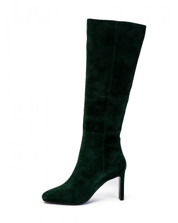 Сапоги женские арт. 52-2007-207 зелёный