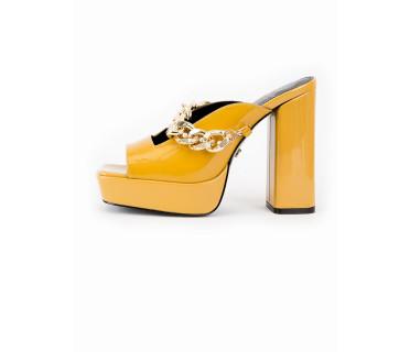 Сабо женские арт. 52-2021-93A жёлтый