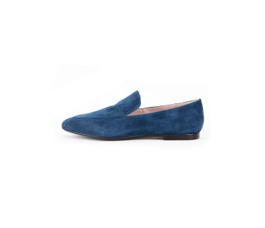 Мокасины женские арт. 52-226-02C т.синий