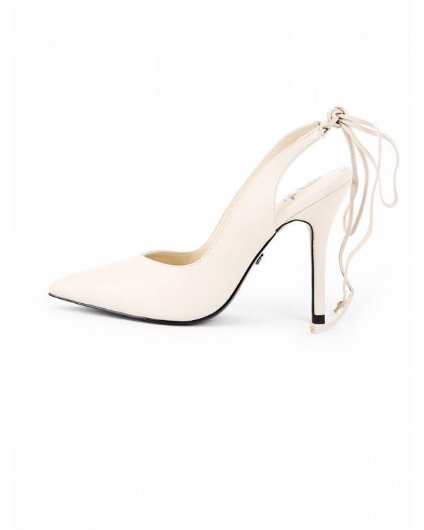 Туфли женские арт. 52-25-921A кремовый