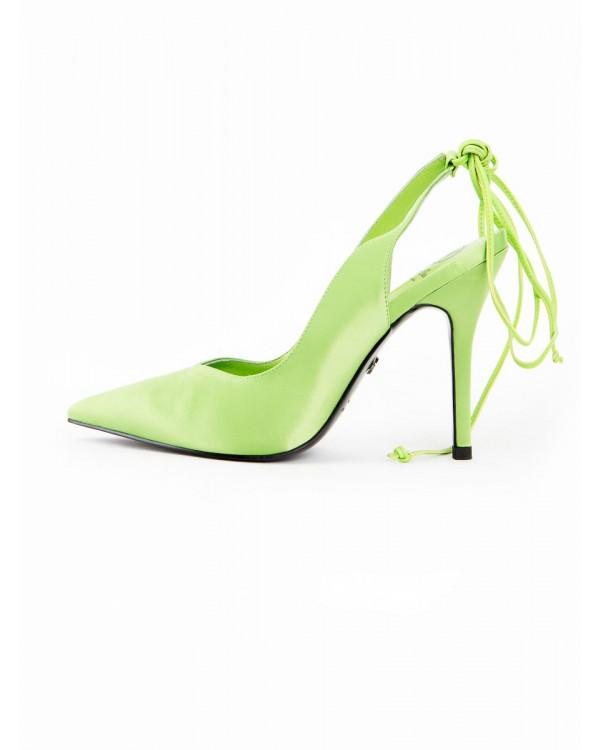 Туфли женские арт. 52-25-921B зелёный