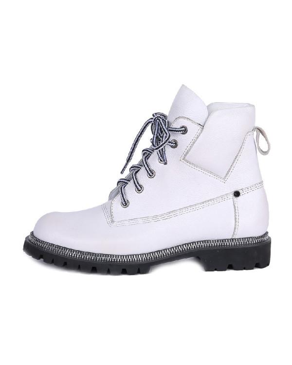 Ботинки женские арт. 52-375-87A белый