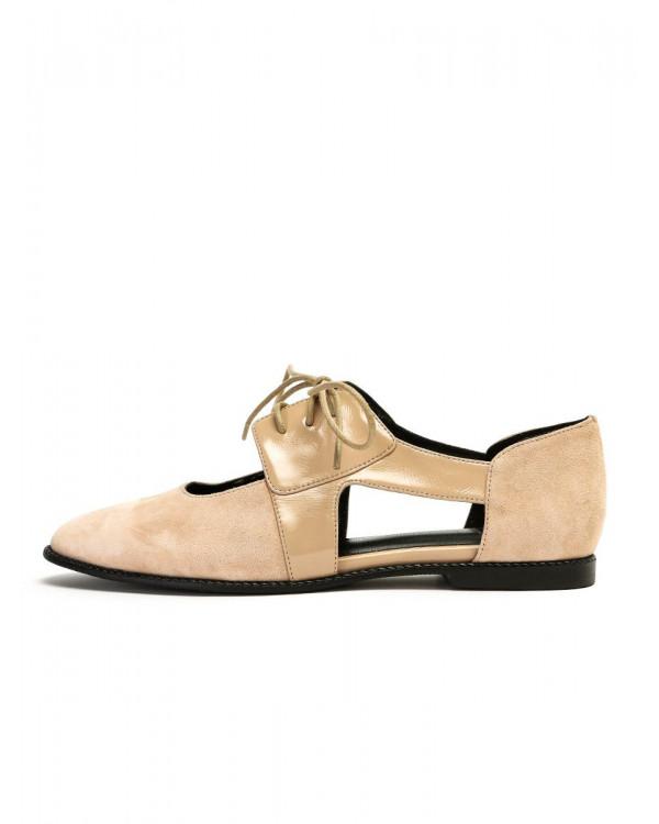 Silvia туфли  женские арт. 52-665-995A бежевый
