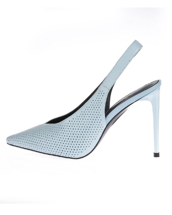 Туфли женские арт. 52-8182-73B голубой