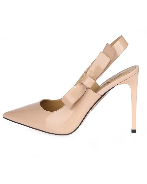 Туфли женские арт. 52-8182-75B бежевый