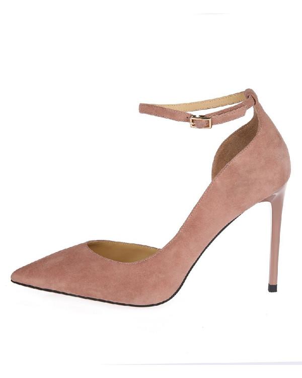 Туфли женские арт. 52-8182-76F розовый