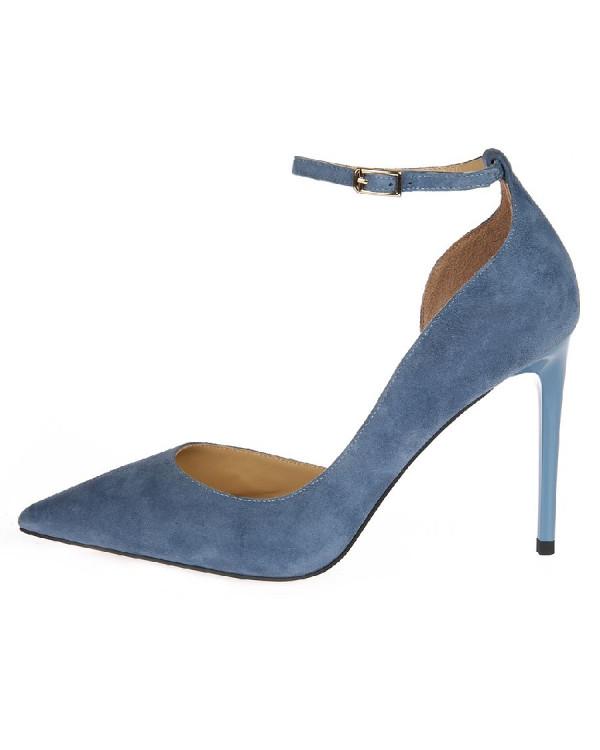 Туфли женские арт. 52-8182-76C синий