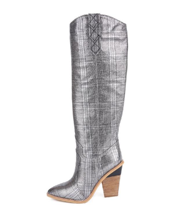 Сапоги женские арт. 52-930-81C серый