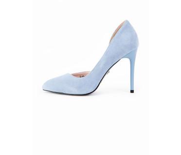 Туфли женские арт. 52-A06-3A голубой