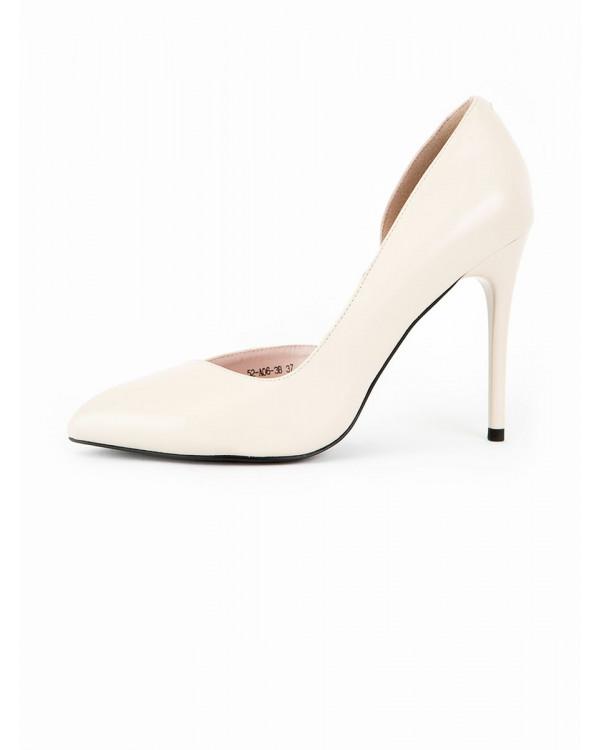 Туфли женские арт. 52-A06-3B бежевый л21