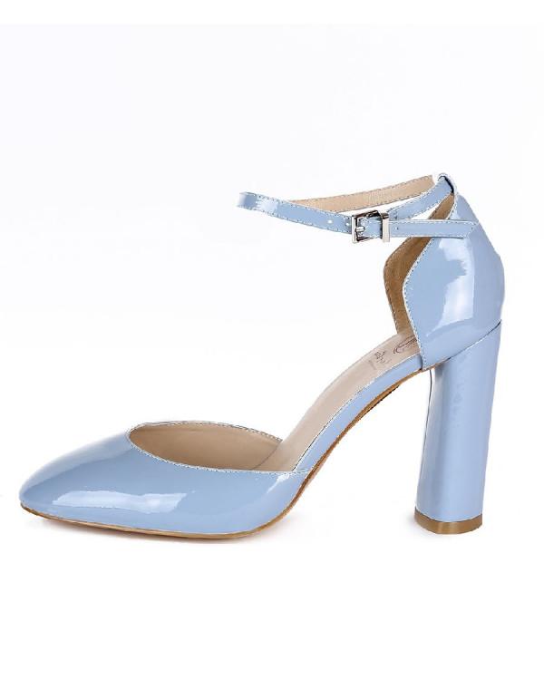 Туфли женские арт. 53-D756-2-2 синий