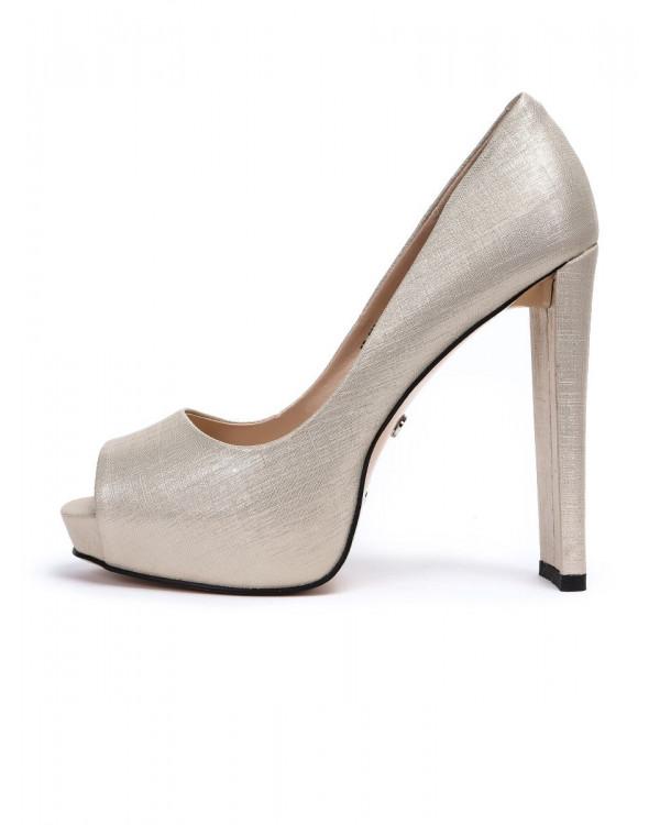 Туфли женские арт. 57-C333-G1366-15 золотой