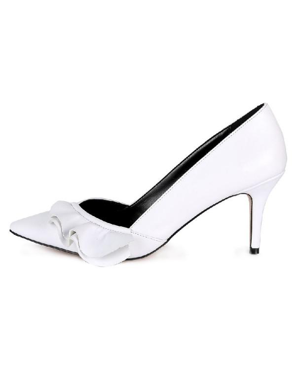 Туфли женские арт. 57-D029-F970-2 белый