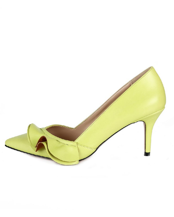 Туфли женские арт. 57-D029-F970-3 лайм