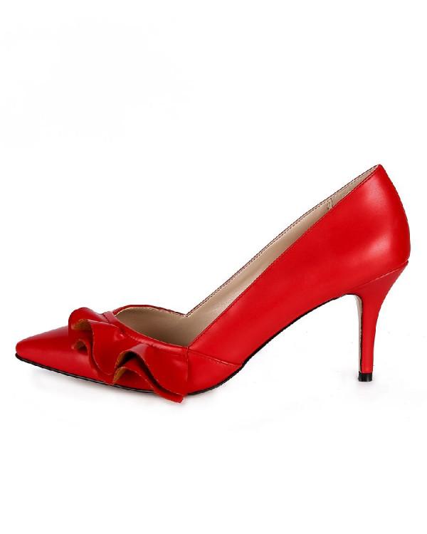 Туфли женские арт. 57-D029-F970-4 красный