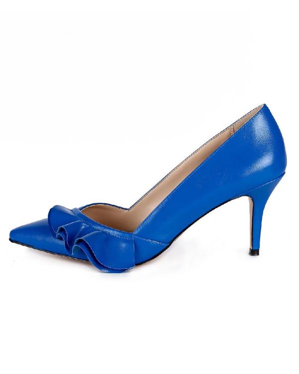 Туфли женские арт. 57-D029-F970-5 синий