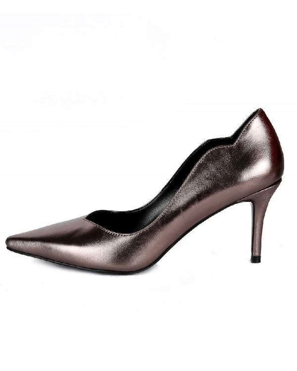 Туфли женские арт. 57-D285-B859-1 серебро
