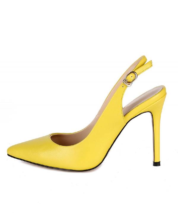 Туфли женские арт. 57-D383-S703-1 лайм