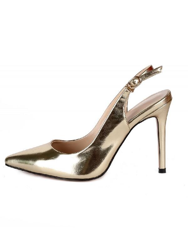 Туфли женские арт. 57-D383-S703-2 золото